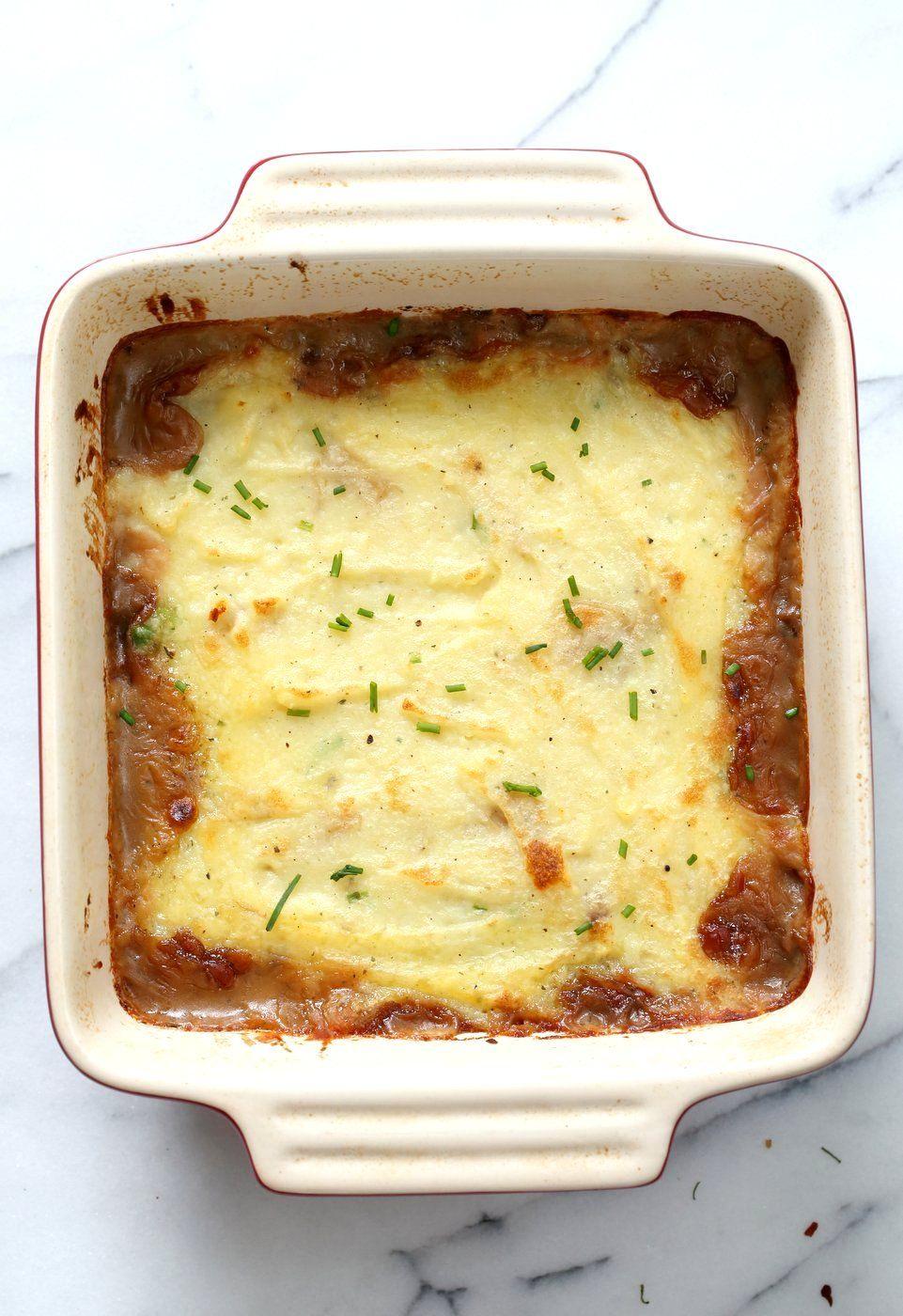 Vegan Lentil Shepherd S Pie Mushroom Lentil Shepherdless Pie Vegan Richa Recipe Lentil Recipes Easy Lentil Recipes Shepherds Pie