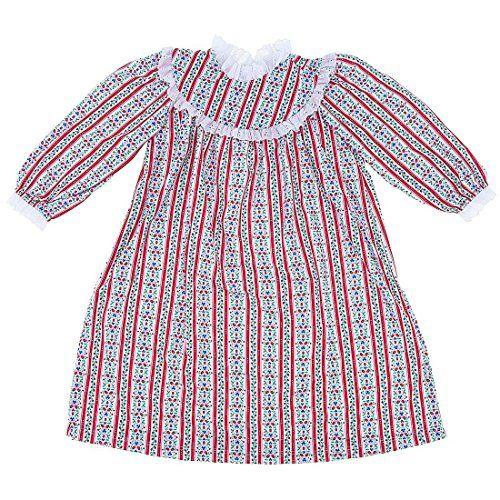 RU Sleeping Tyrolean Classic Christmas Nightgown for Big Girls   9fc3198b5
