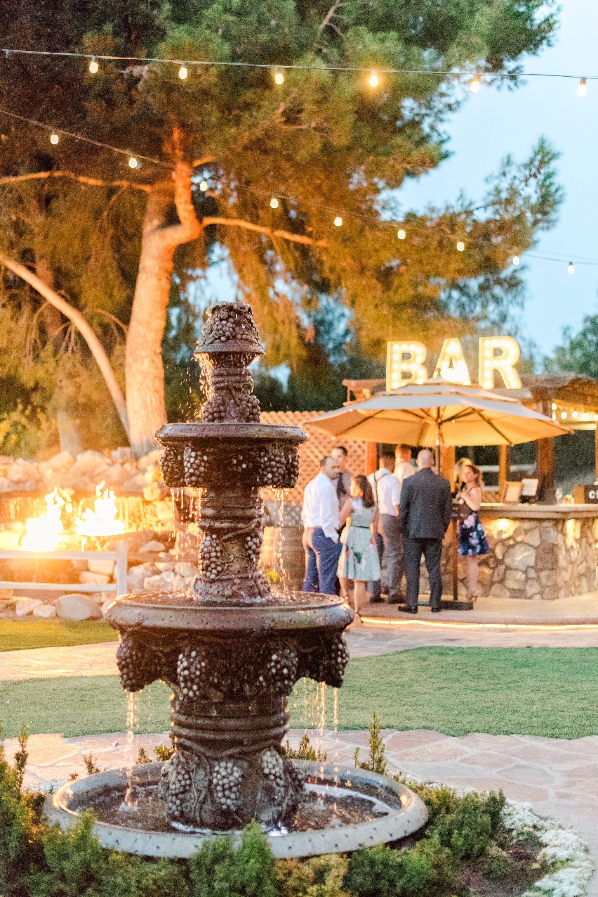 Lake Oak Meadows Bar Wine country wedding venues, Wine