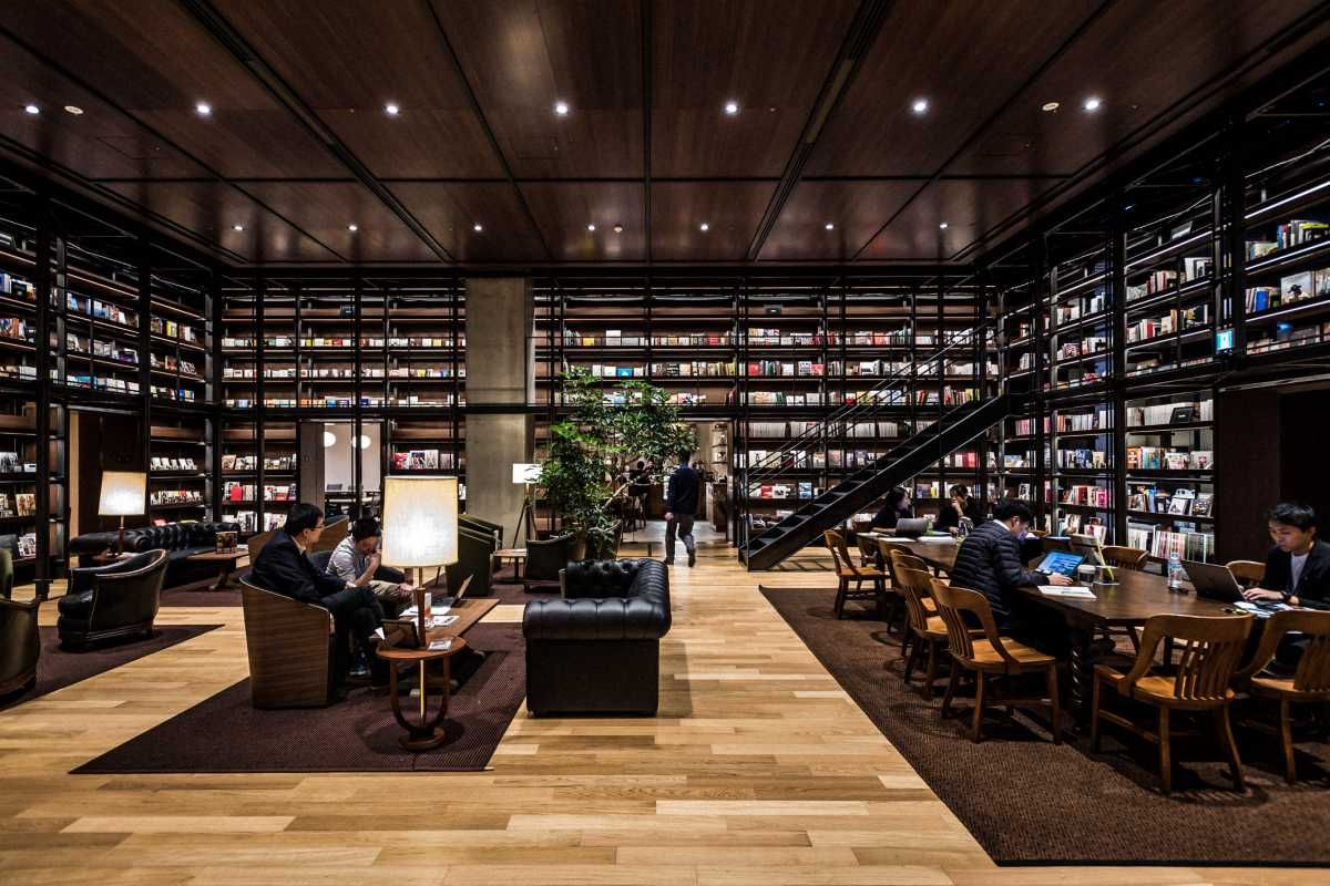 Uniqlo City The Reading Room Has More Than 3000 Titles And Offers Staff A Place