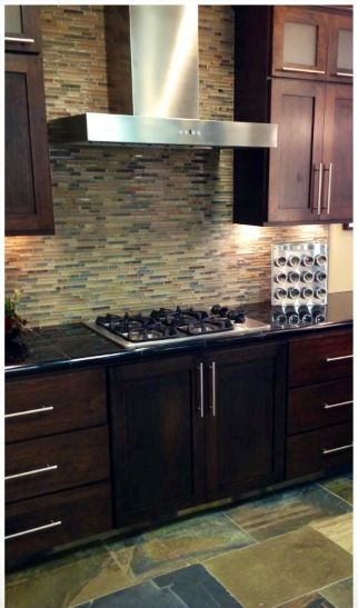 Kitchen backsplash home decor Pinterest Kitchen backsplash