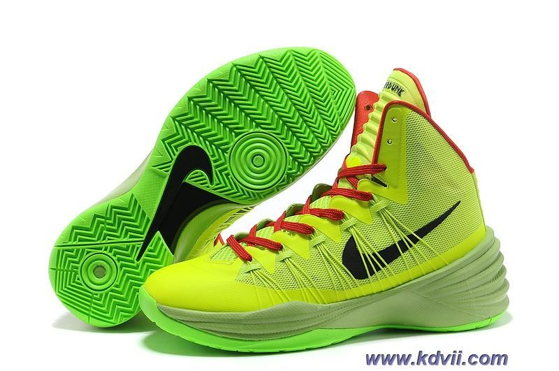 7527cbf9da72 Discounts Nike Hyperdunk 2013 Green Black Red