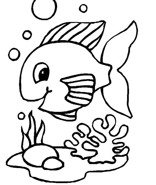 Animais Marinhos Desenhos Para Colorir Colorindodesenhos