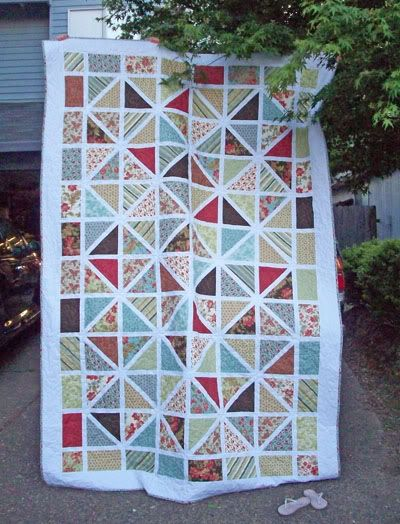 Quilt, beautiful! I'd like to start quilting again, someday ... : how to start a quilt - Adamdwight.com