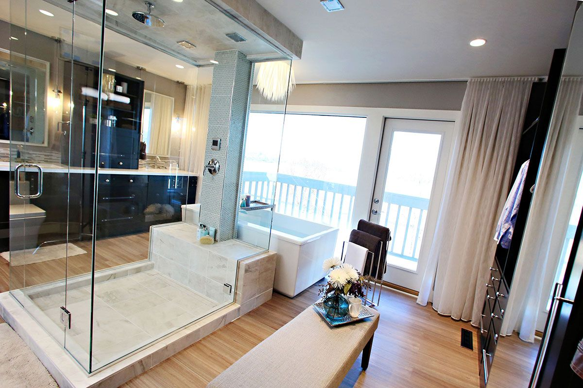 Bathroom Remodeling With Premium Quality Cabinets Open Concept