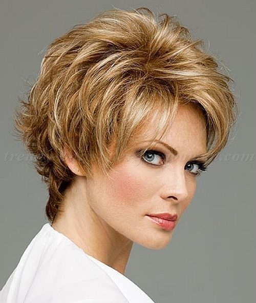 Short Hairstyle Over 14 Hairstyles For Women Over 14 Pinterest Thick Hair Styles Short Hair Styles Short Hair With Layers
