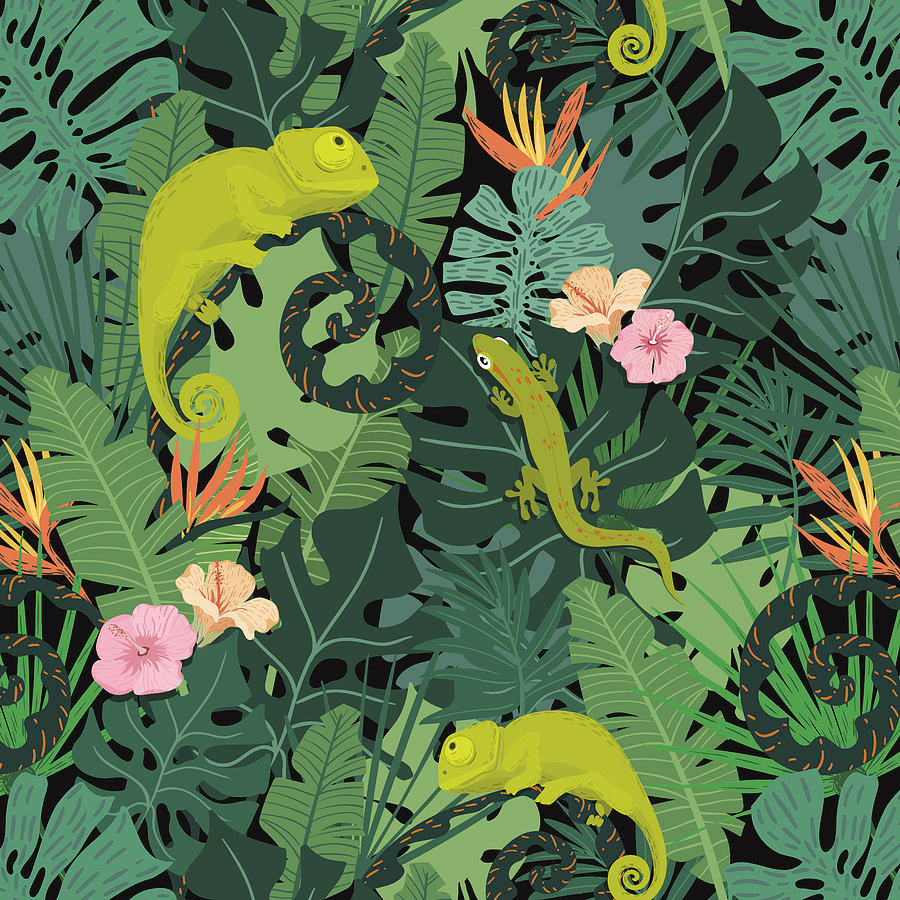 jungle pattern - Google Search #junglepattern