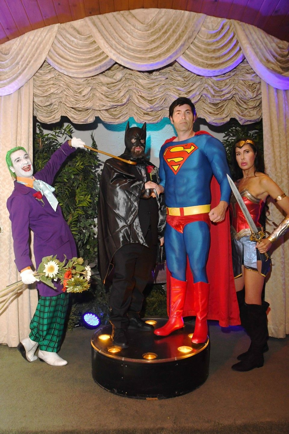 Superhero Wedding In 2020 Superhero Wedding Las Vegas Wedding Packages Vegas Wedding Chapel