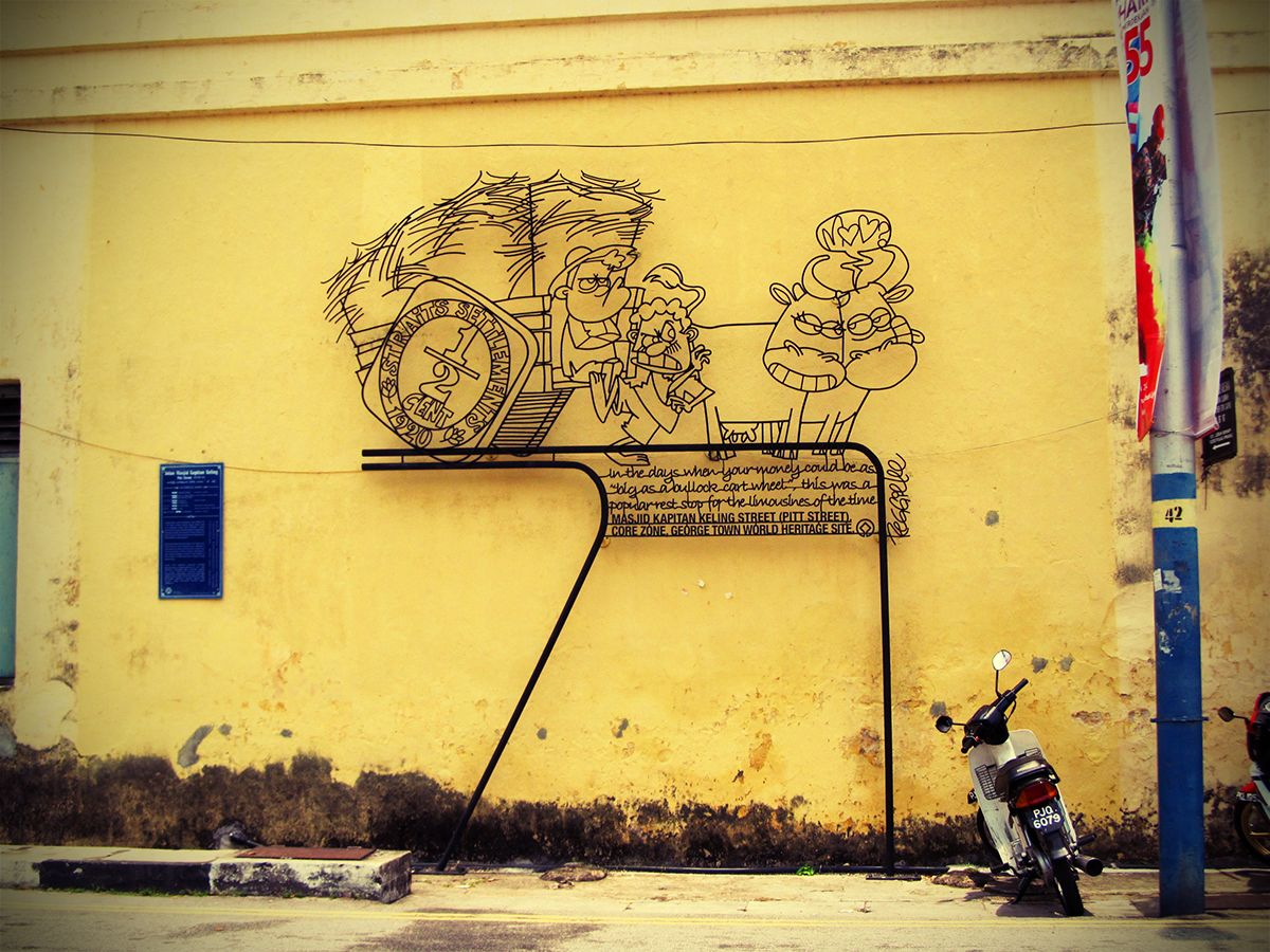 Penang Street Art (Pitt Street) | Street art, Street and Urban art