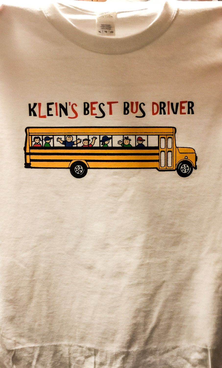Best Bus Driver (Personalize with your school name) by Mychristianshirts on Etsy