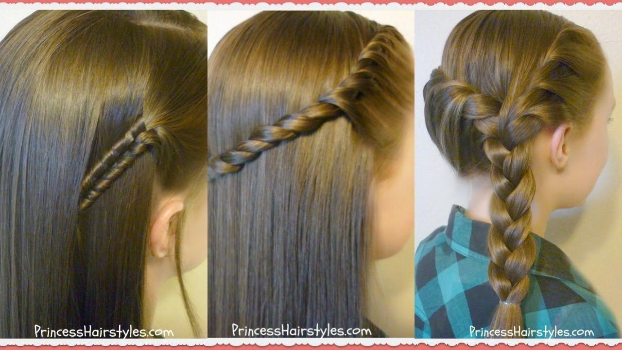 3 Easy Back To School Hairstyles Youtube Easyhairstylesforschool