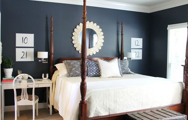 Our Fifth House: I love the wall color. Martha Stewart Wrought Iron