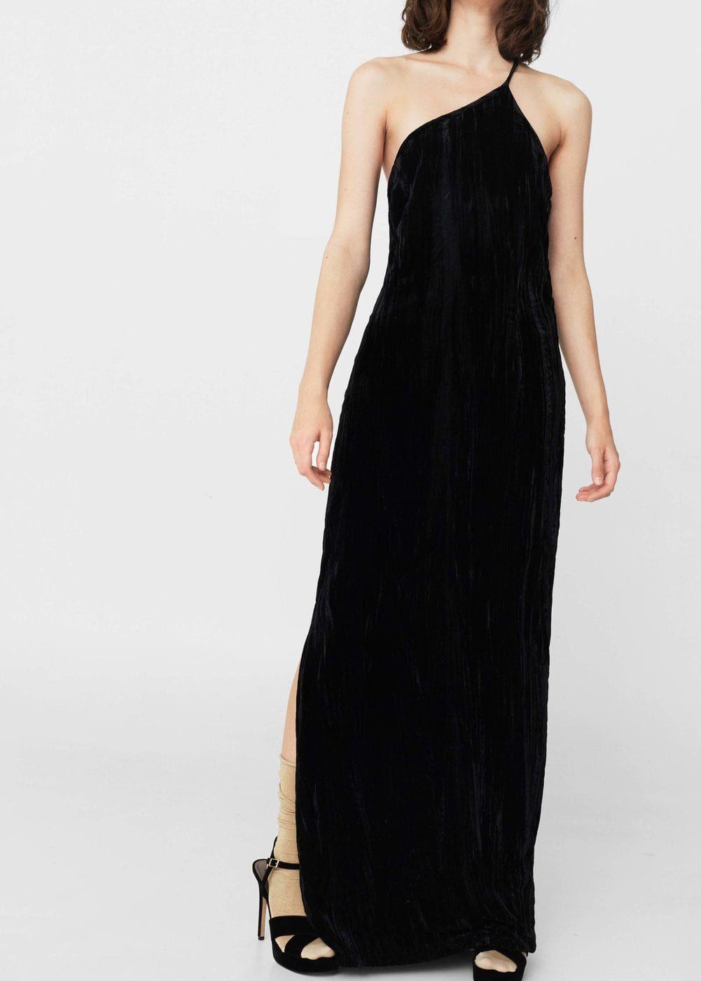 Vestido negro largo mexico