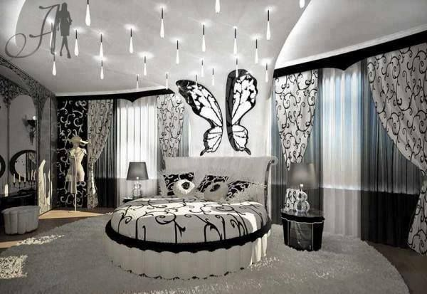Slaapkamer in zwart-wit | rooms | Pinterest
