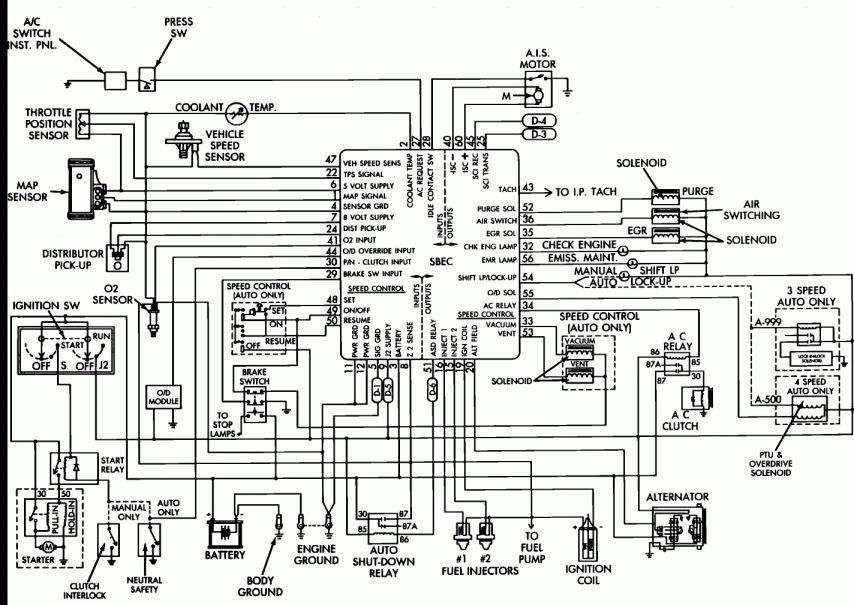 [DIAGRAM] 87 Dodge Truck Wiring Diagram Schematic FULL