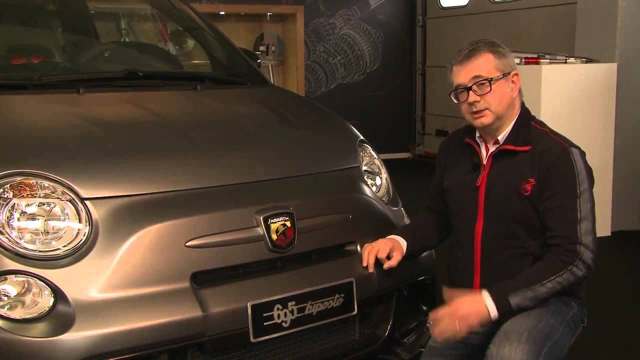 Here's a fascinating talk through of the technical features of the Abarth 695 #Biposto from Maurizio Consalvo, Head of #Abarth Product Marketing!