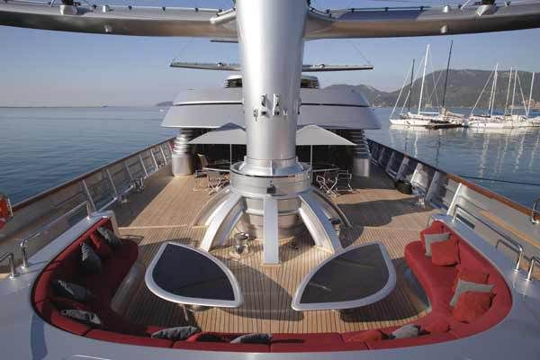 Maltese Falcon Third Largest Sailing Yacht In The World Sailing