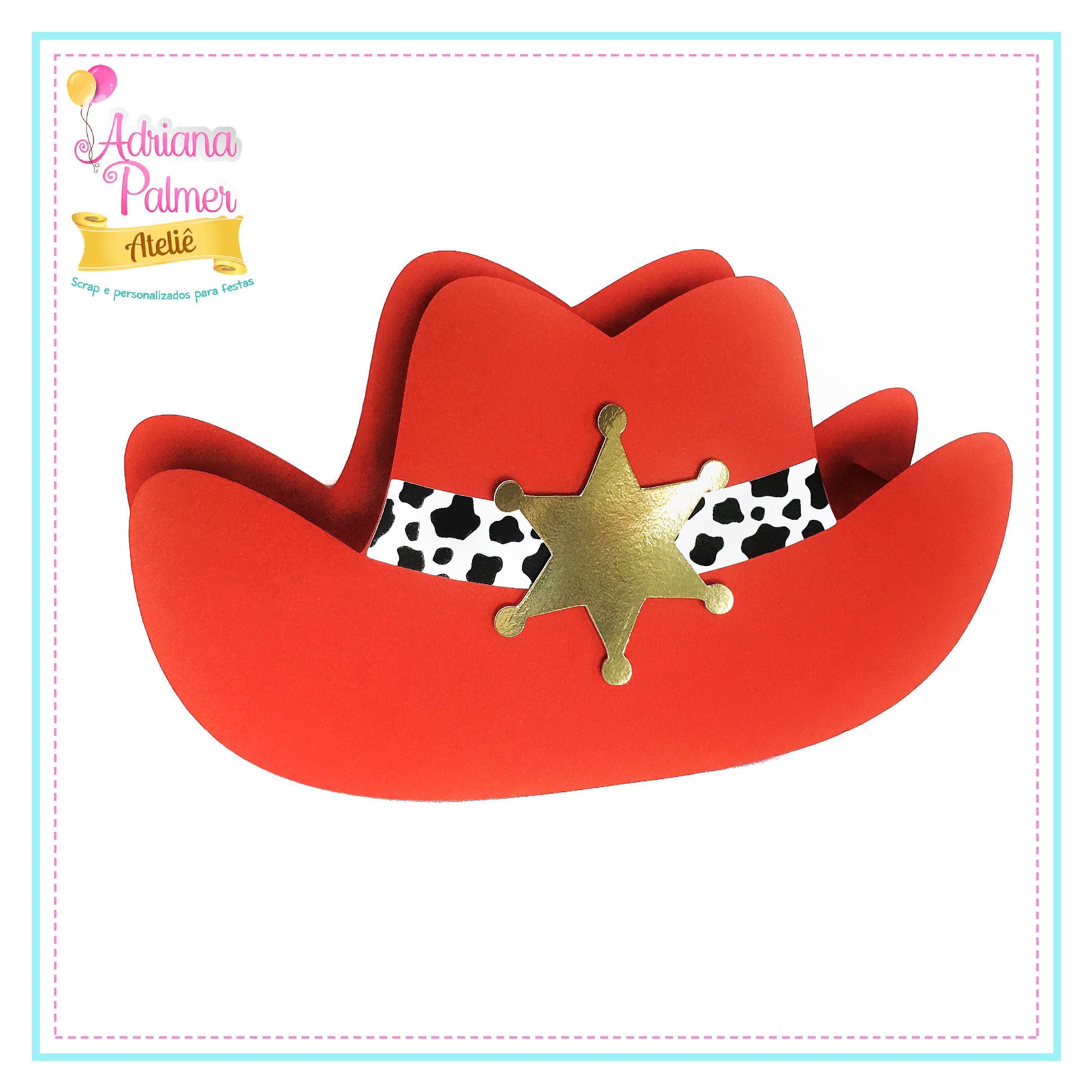 93df9617197e0 Caixa chapéu - Jessie Toy Story - Cowgirl
