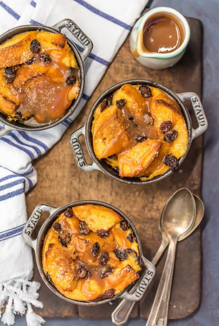 Iris bread pudding