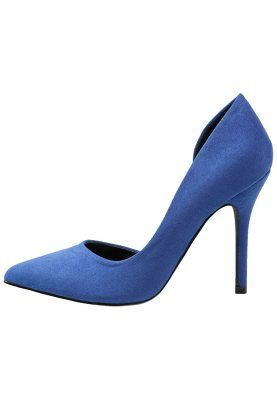 Zapatos altos - dark blue 25€