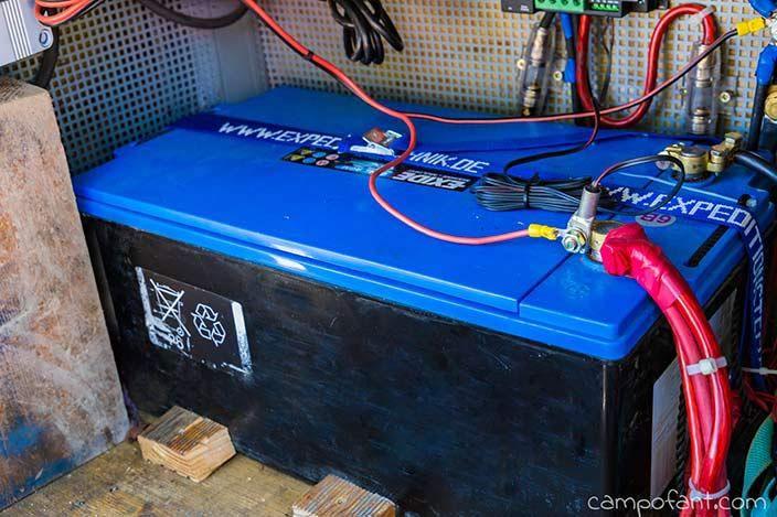 Batterie im Wohnmobil: Ratgeber für Versorgungsbatterien