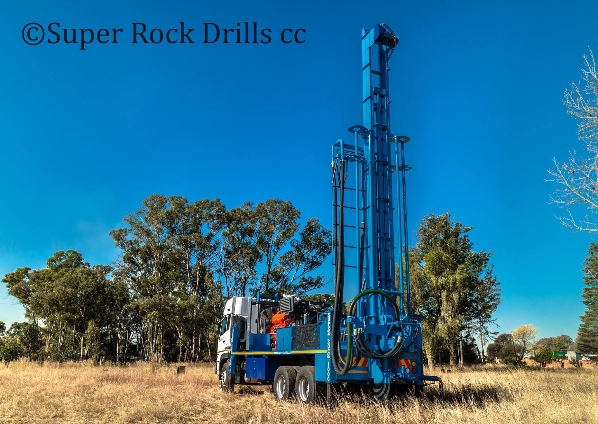 Sr1000 Water Well Drill Rig Well Drilling Water Well Drilling Drilling Rig
