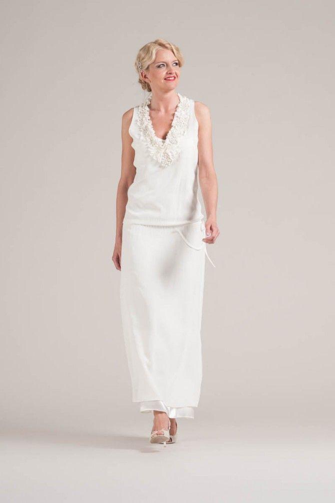 Vintage Brautkleid im 20er Jahre Look | Wedding | Pinterest | 20er ...