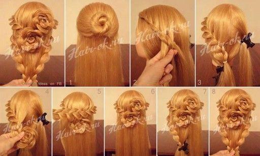 How to do pretty flower braid hairstyles step by step diy tutorial how to do pretty flower braid hairstyles step by step diy tutorial instructions how to solutioingenieria Choice Image