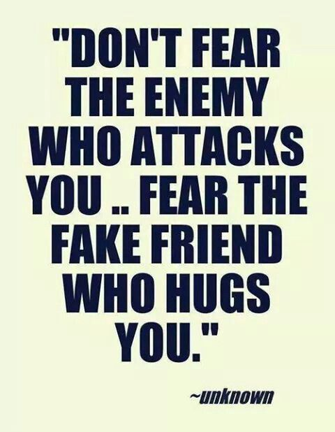 Fake friends are the worst. | Qoutes | Quotes, People quotes