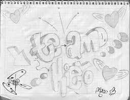 Graffitis De Amor Buscar Con Google Graffitis De Amor Dibujos