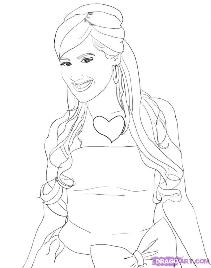 high school musical coloring pages # 13