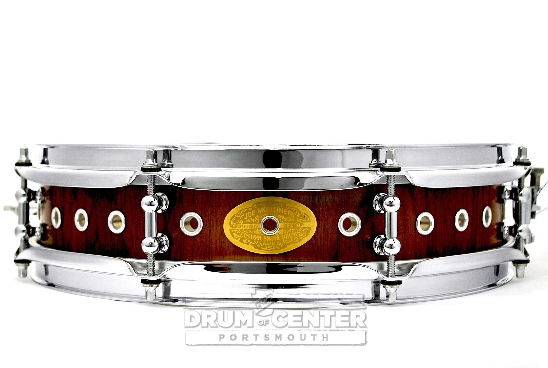 Montineri Custom Maple/Walnut Snare Drum 14x3.5 Extra Vented3.5x14 ...