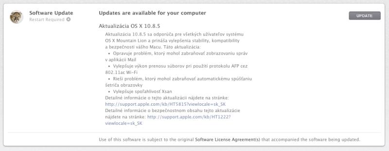 Aktualizácia OS X 10.8.5 - http://detepe.sk/aktualizacia-os-x-10-8-5/