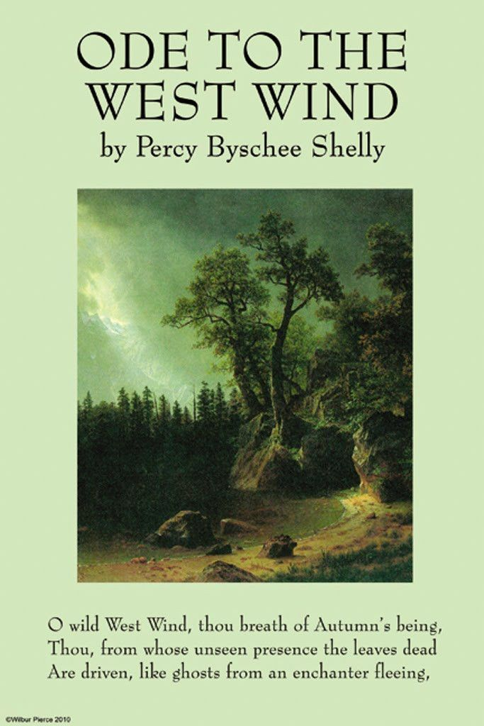Ode to the West Wind - Percy Byschee Shelly