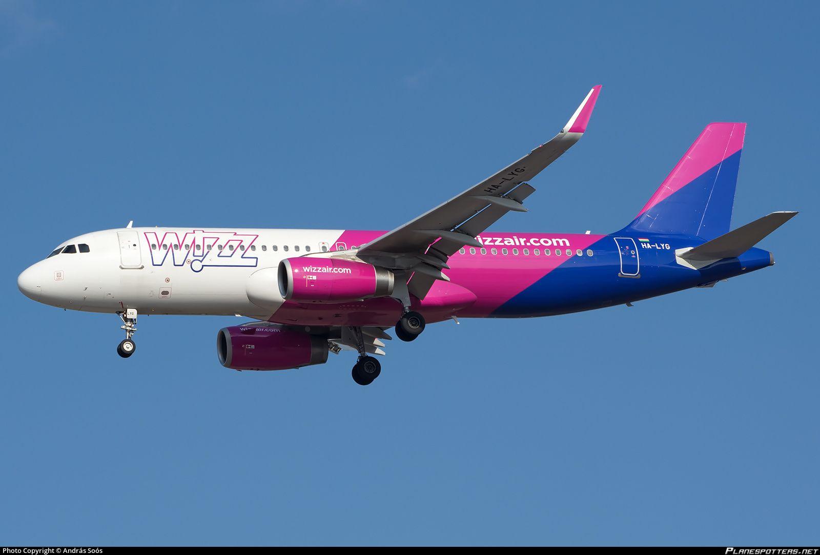Ha Lyg Wizz Air Airbus A320 232 Wl Airbus Air Aircraft