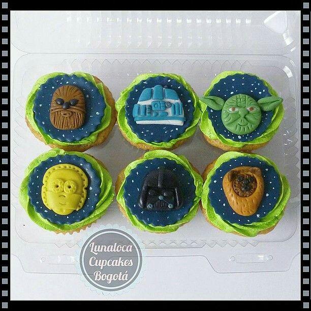 Cupcakes La Guerra de las Galaxias (Star Wars)