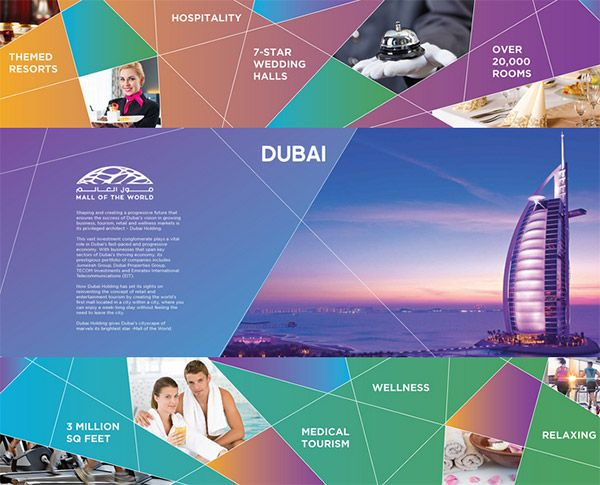Dubai Holding Pitch Brochure Brouchures Pinterest Brochure