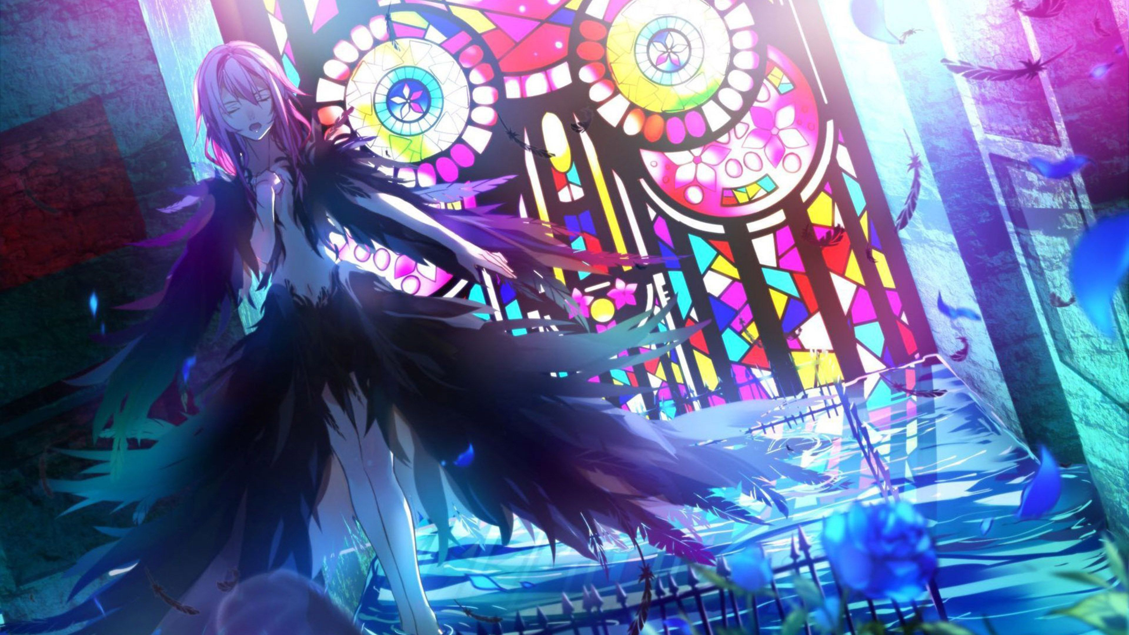Guilty Crown Guilty crown wallpapers, Anime, Inori yuzuriha