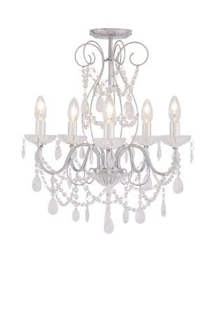 Buy sophie 5 light polished chrome chandelier from the next uk buy sophie 5 light polished chrome chandelier from the next uk online shop aloadofball Gallery