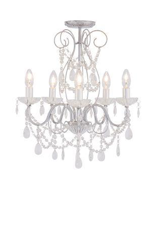 Buy sophie 5 light polished chrome chandelier from the next uk buy sophie 5 light polished chrome chandelier from the next uk online shop mozeypictures Choice Image