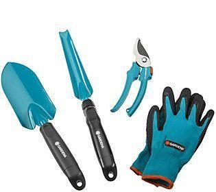 Gardena 4-in-1 Gardening Set #HandToolsErgonomic
