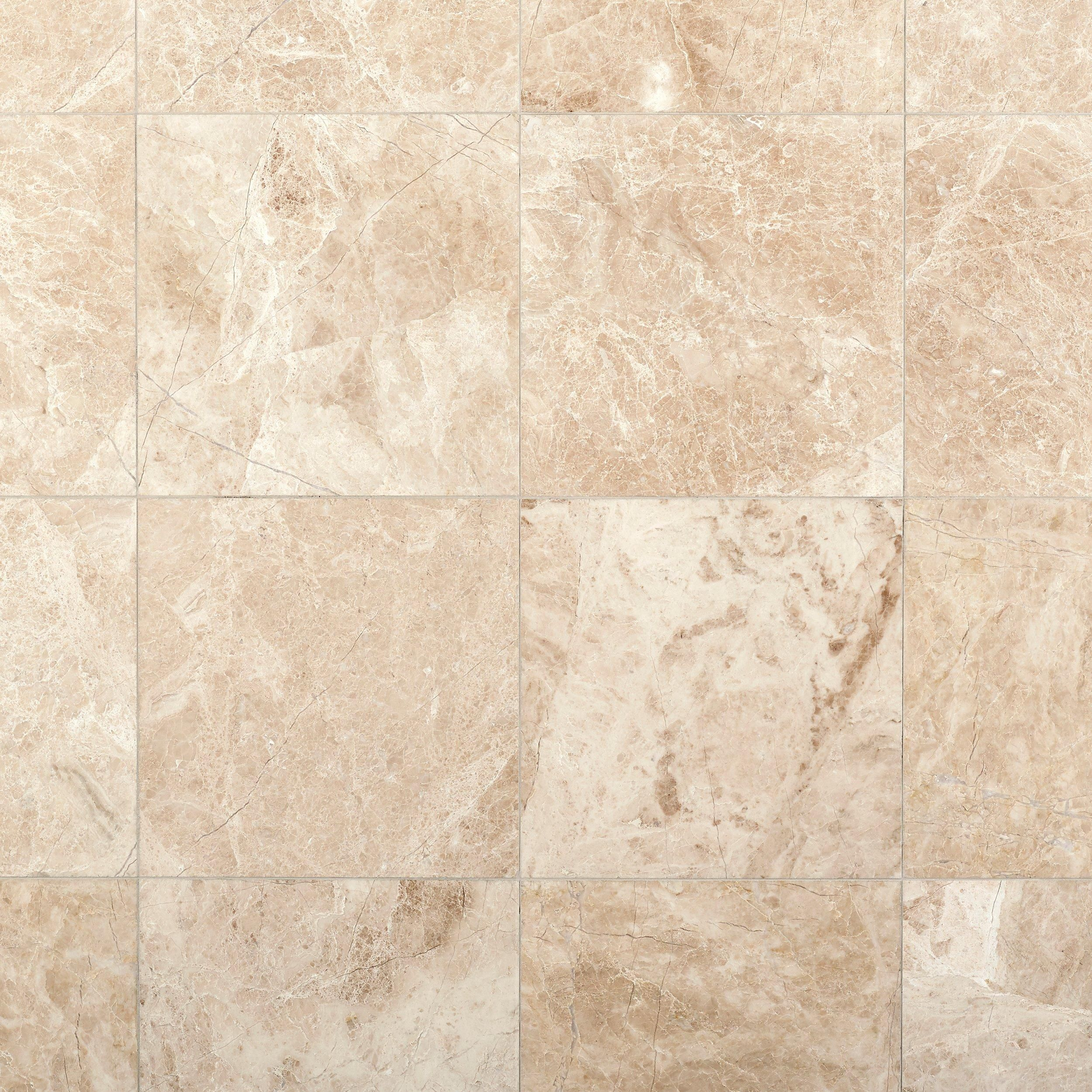 Avillano Cappuccino Polished Marble Tile 12 X 12 Beige 0 375 Thick Floor Decor In 2020 Polished Marble Tiles Marble Tile Hexagon Marble Tile