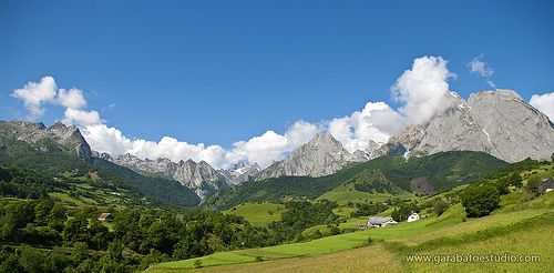 Lescun, Valle de Aspe, Francia