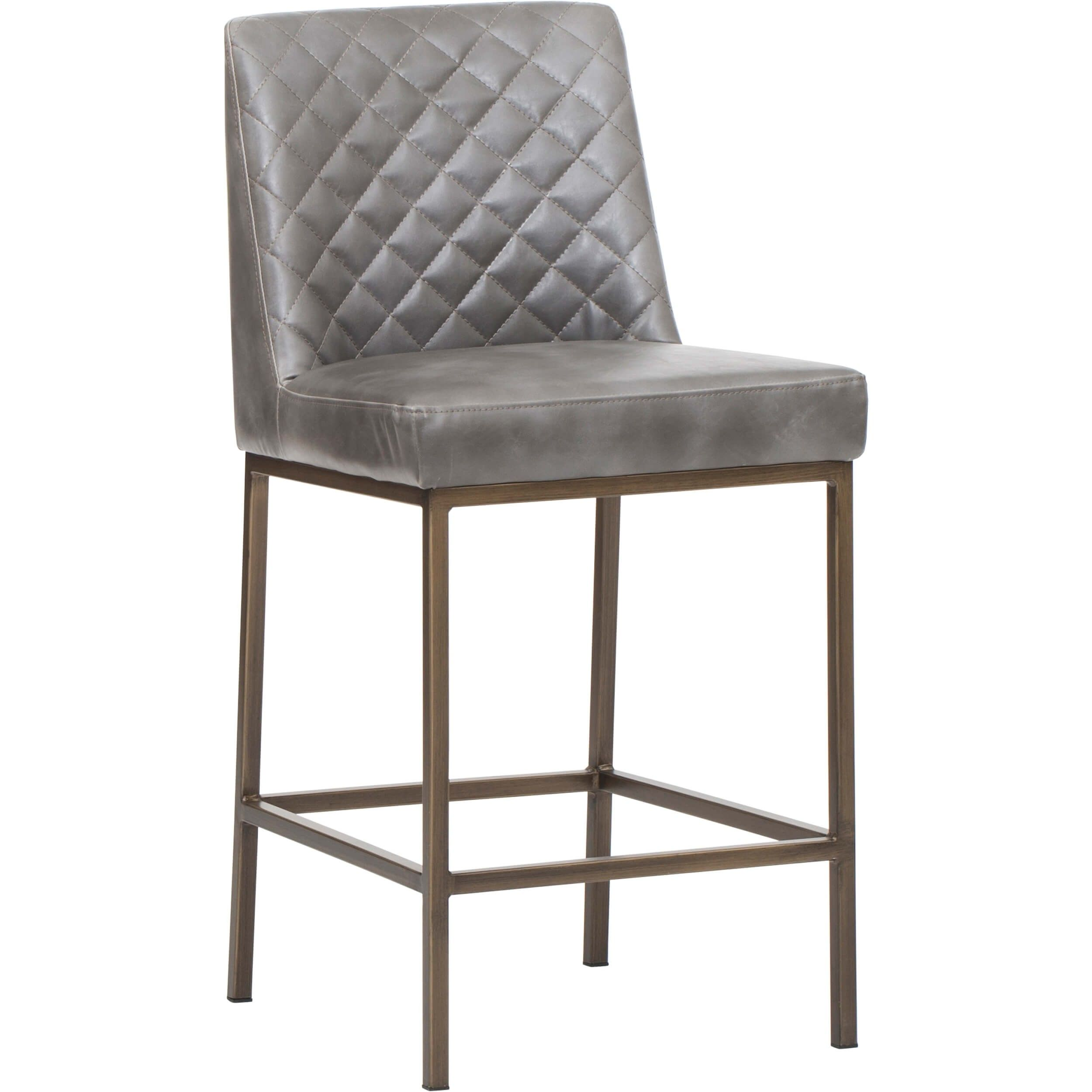 metal house nickel stool well leather counter height kitchen swivel home polished luxuries amisco with grey arteriors stools for gray top appointed the splendiferous small bar legs