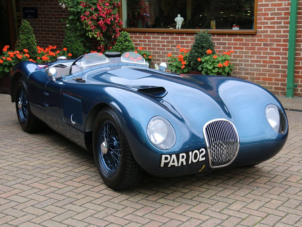 1953 Jaguar C-Type | autos | Pinterest | Cars, British car and ...