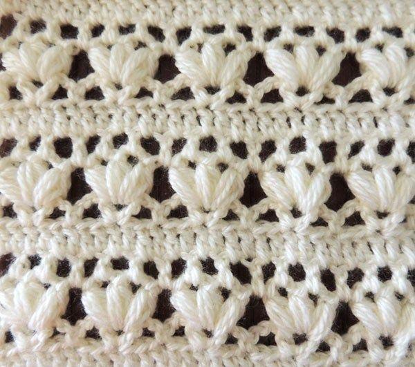 Crochet : Puntos - Tejiendo de Corazon | PUNTOS A CROCHET ...