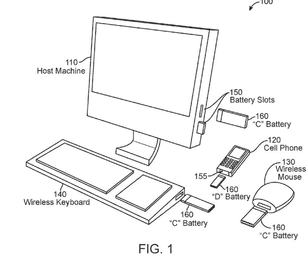 Apple patent shows an iMac with slots for recharging
