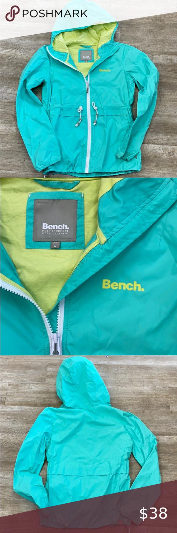 Bench Rain Coat In 2020 Bench Jackets Raincoat Jackets For Women