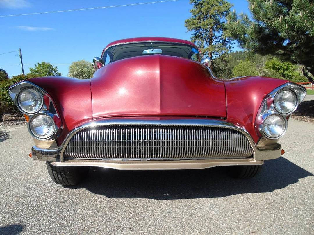 What Do You Get If You Cross A 1950 Oldsmobile With A 1963 Pontiac This 1950oldsmobilecustom Was Built In Tacoma Washington In Pontiac Custom Cars Oldsmobile