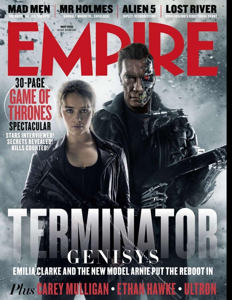 Empire Back Issue May 2015 Digital In 2020 Terminator Genisys Terminator Terminator Movies